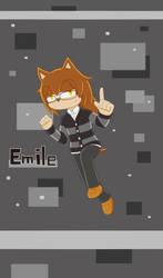 Emile the Hedgehog by sfBluepan