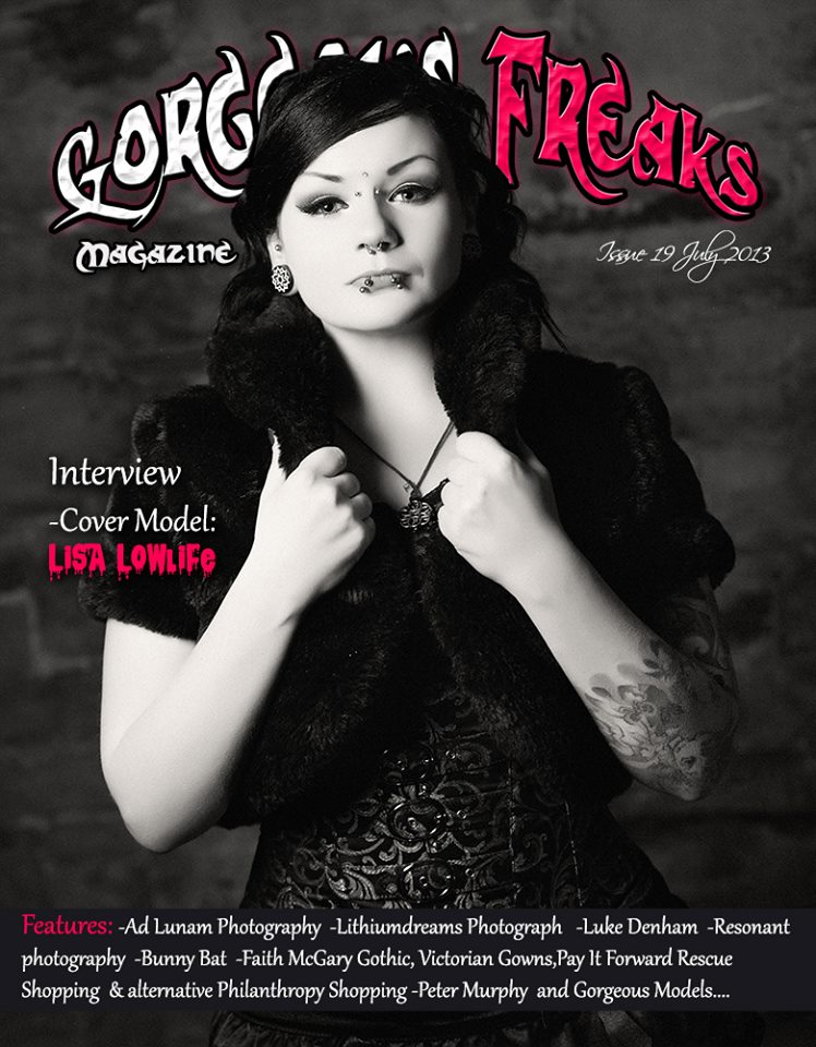 Gorgeous Freaks Mag Cover by Dahlia-Dubh