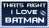 Love Batman by KorineForever