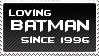Loving Batman Since 1996 by KorineForever