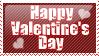 Valentine's Day Stamp by KorineForever