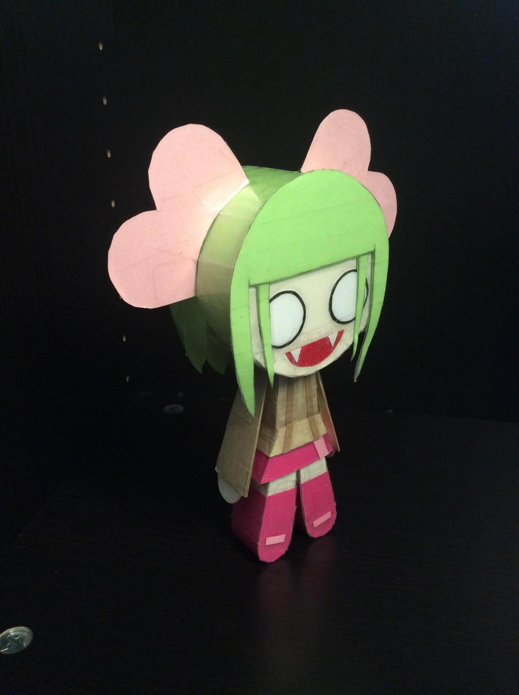 Paper Female Vampire
