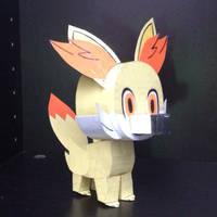 Paper Fennekin