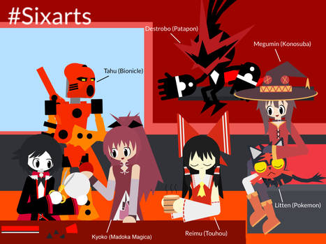 Six Characters Red Version