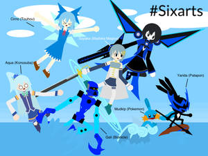 Six Characters Blue Version