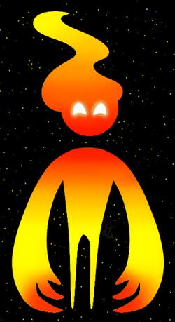 Flame boi by KuriousKoda
