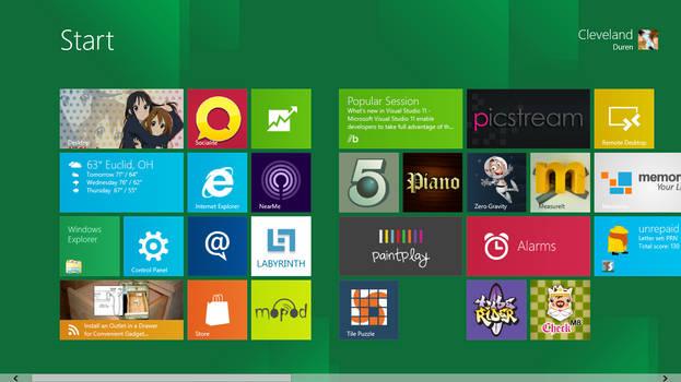 My Start Menu Windows 8 9-19