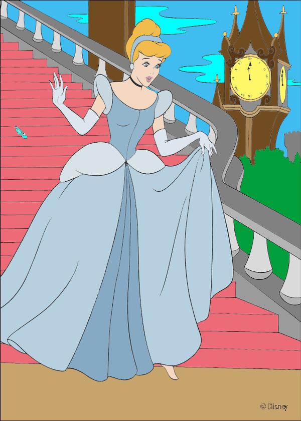 Cinderella Loses Slipper