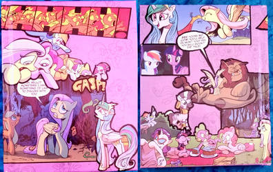 My Little Pony Decoupage Notebook by ami-nomiko