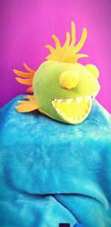 Plush Chompy Fish by ami-nomiko