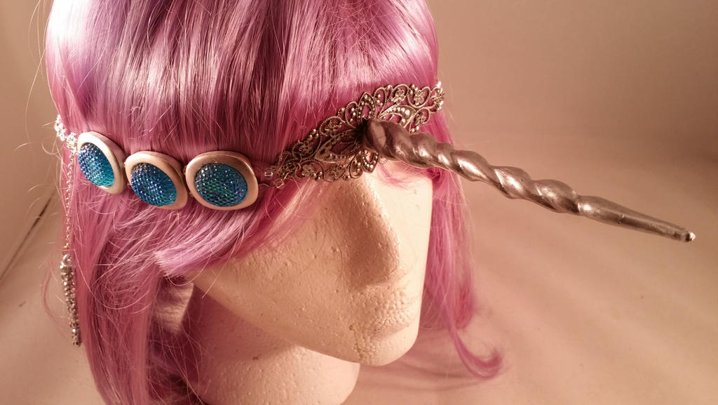 Unicorn Horn Head Jewelry by ami-nomiko