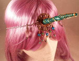 Unicorn Horn Head Jewelry