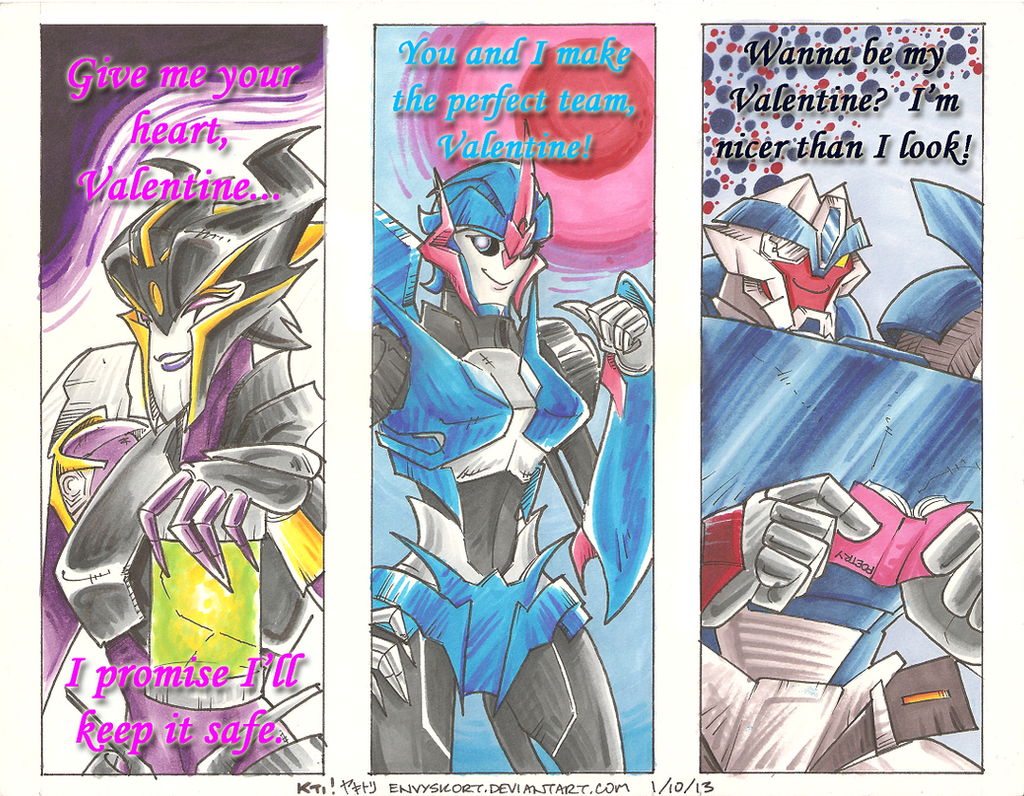 VALENTINES FOR FILTHY ROBOSEXUALS 1 By EnvySkort VALENTINES FOR FILTHY  ROBOSEXUALS 1 By EnvySkort