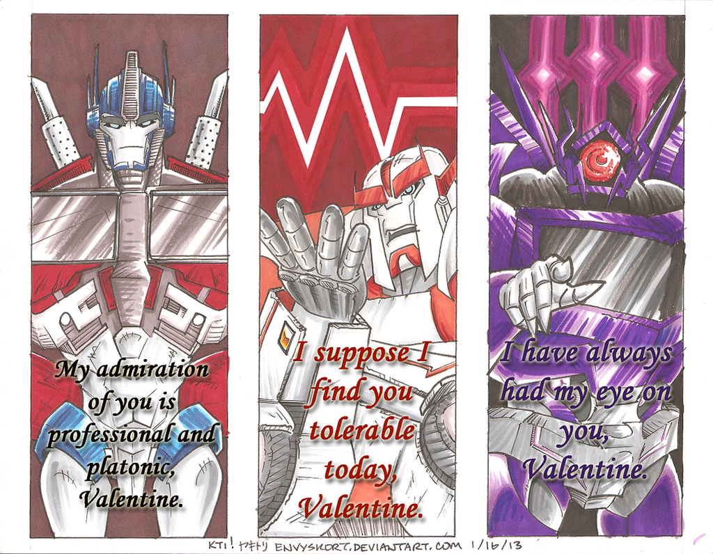 VALENTINES FOR FILTHY ROBOSEXUALS 4 By EnvySkort VALENTINES FOR FILTHY  ROBOSEXUALS 4 By EnvySkort