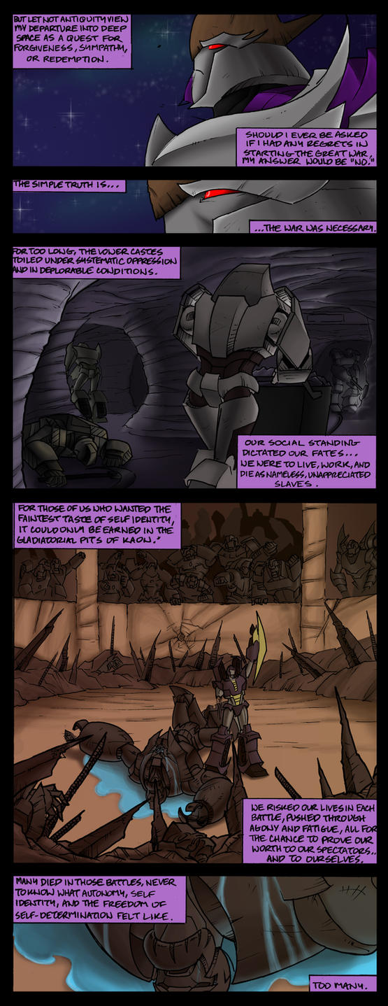 Megatron: Exile pt 2 by EnvySkort