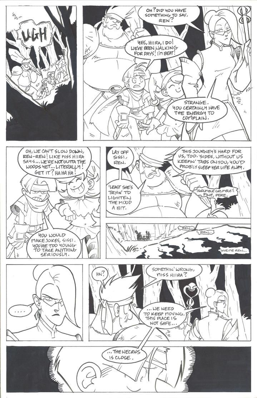 Awakening Page1 by EnvySkort