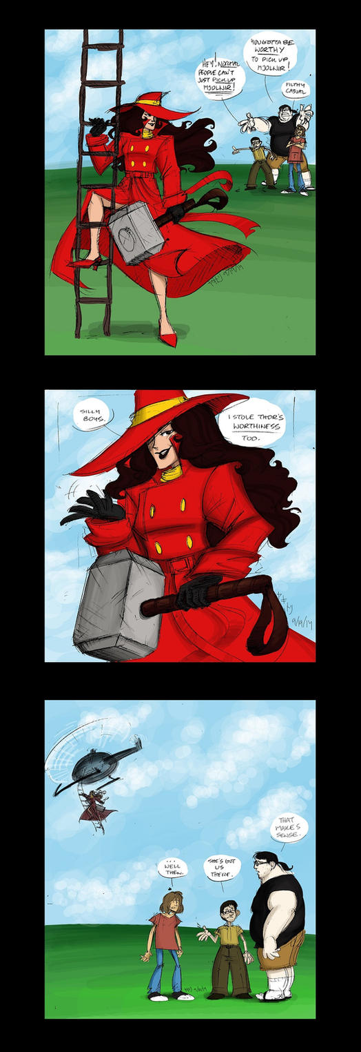 /co/ Drawthread Request - Carmen Sandiego by EnvySkort