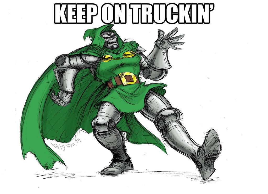 /co/ Drawthread Request - Keep On Truckin' by EnvySkort