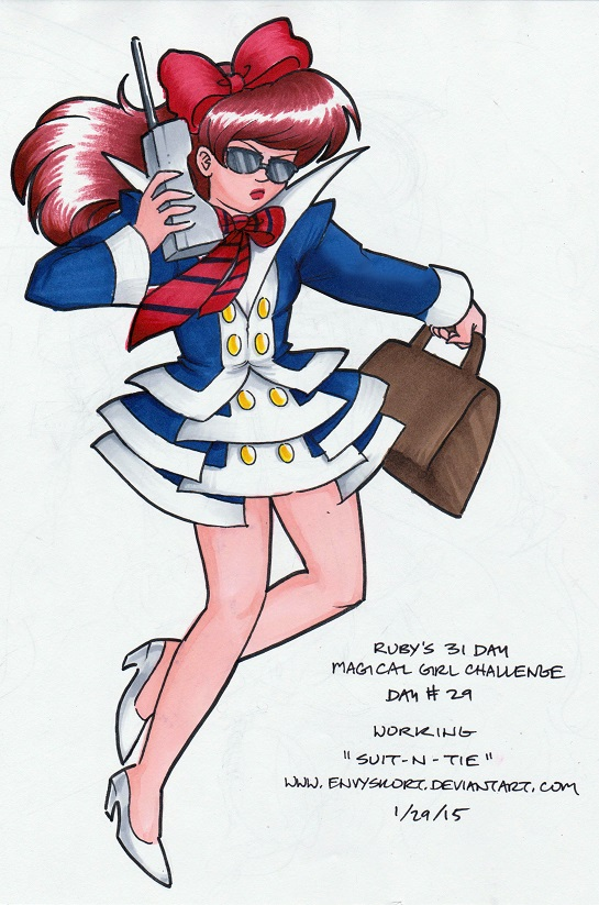 31 DAYS OF MAGICAL GIRLS - DAY 29 by EnvySkort
