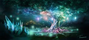 Crystal Tree [Commission]