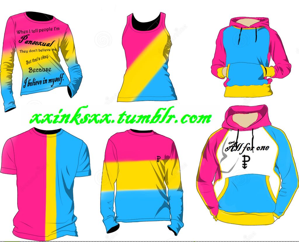 Pansexual Shirt Ideas By Xxinksxx On Deviantart
