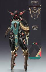 Warframe: Ivara - Jade Sin Skin