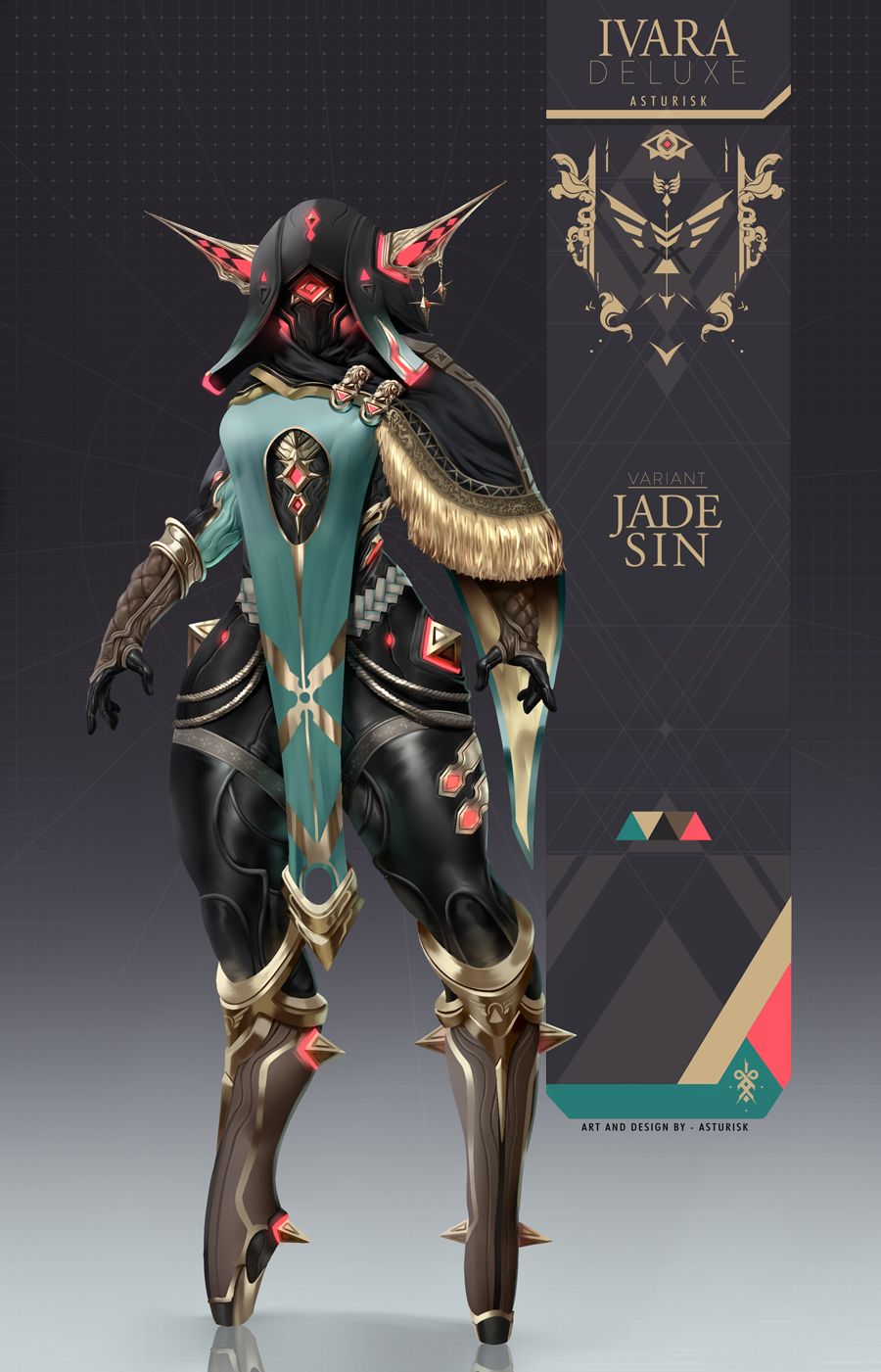 Warframe Ivara Jade Sin Skin By Asturisk On Deviantart Possessing a higher energy capacity and shield capacity, as well as an additional polarity. warframe ivara jade sin skin by