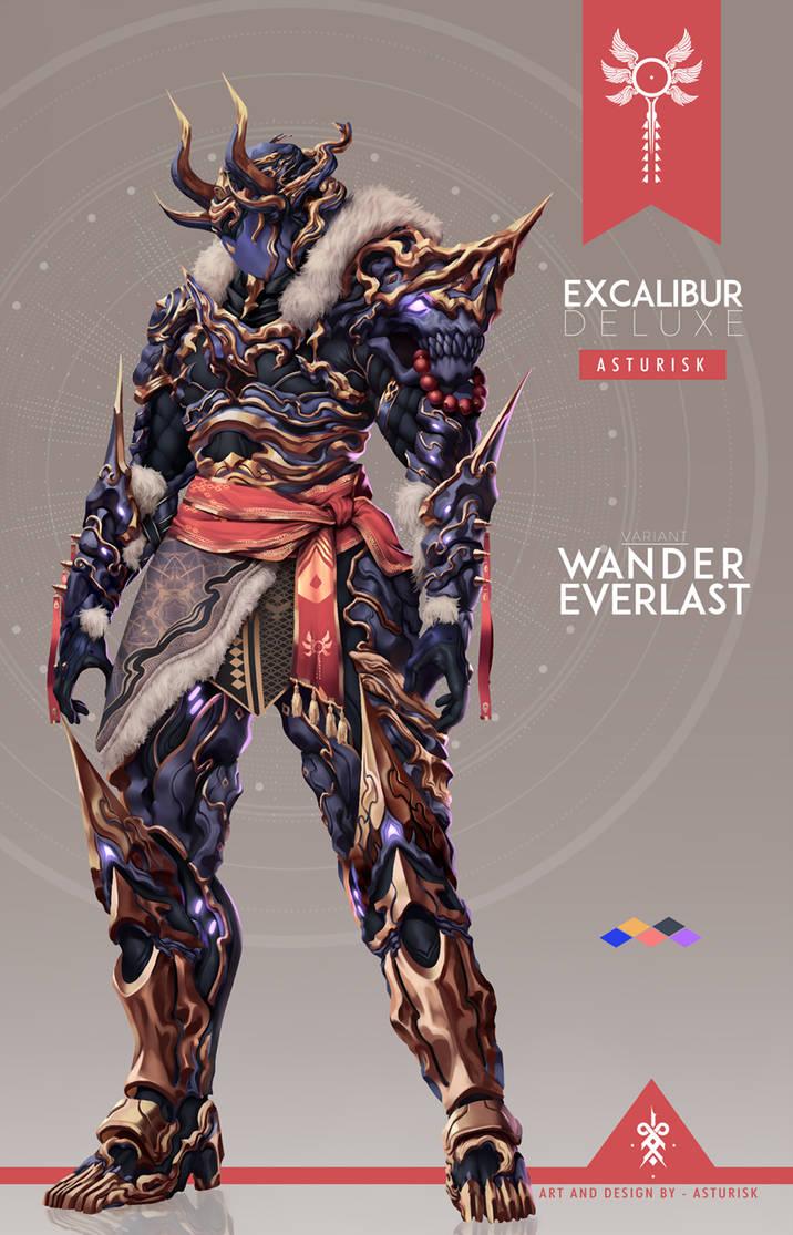 """Résultat de recherche d'images pour """"warframe excalibur deluxe wander everlast"""""""