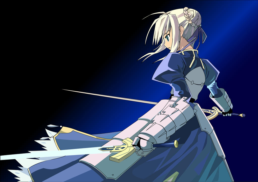 Saber Vector by sorrows-chains