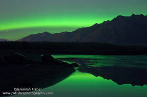 Aurora reflections by JWFisher