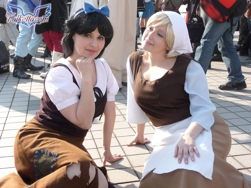 Poor Snow White and Cinderella by falketta ...  sc 1 st  DeviantArt : poor cinderella costume  - Germanpascual.Com