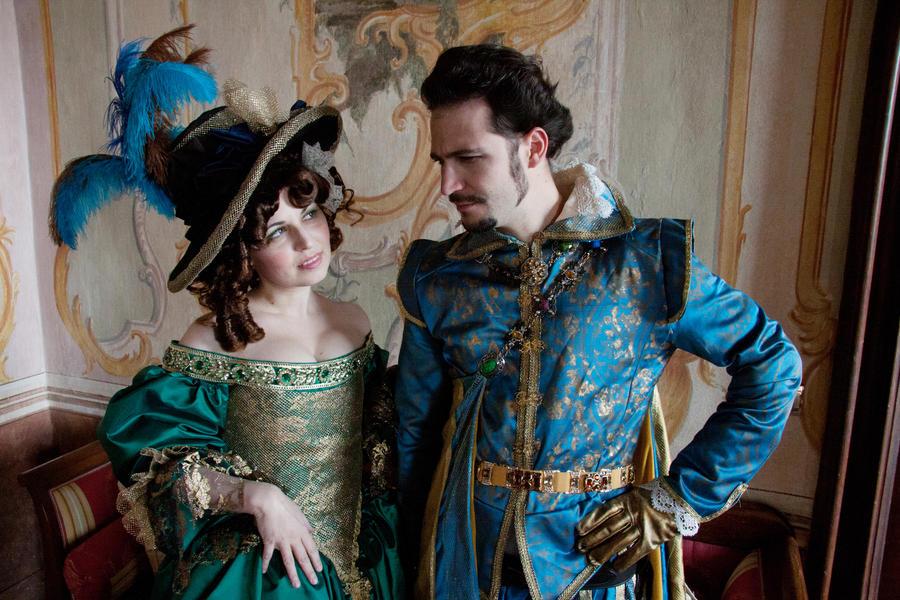 Milady and Buckingham