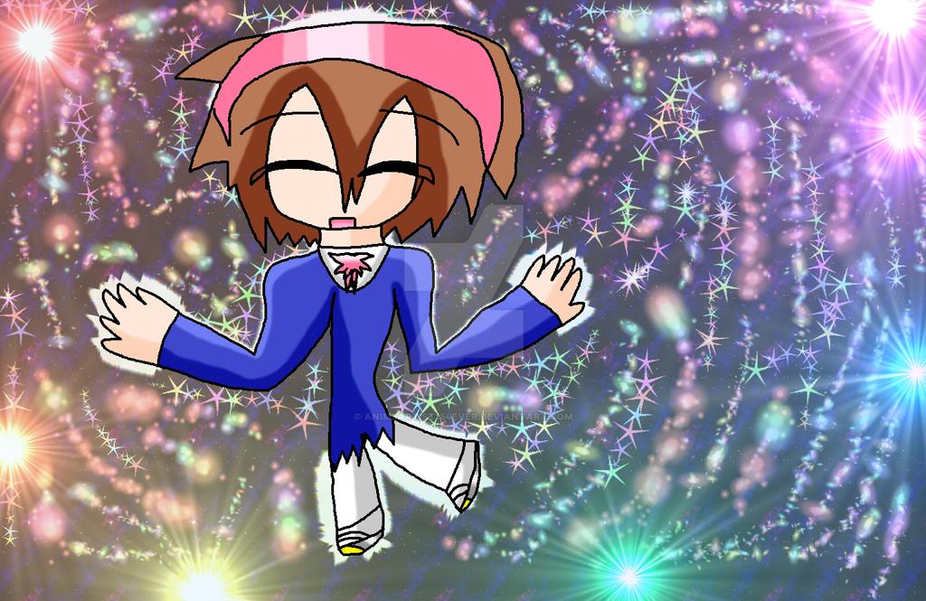 Yuka Mochida Wielder of Light by AnimeArtist154ever