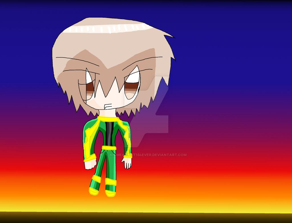 Rayquaza!Yoshii Akihisa by AnimeArtist154ever