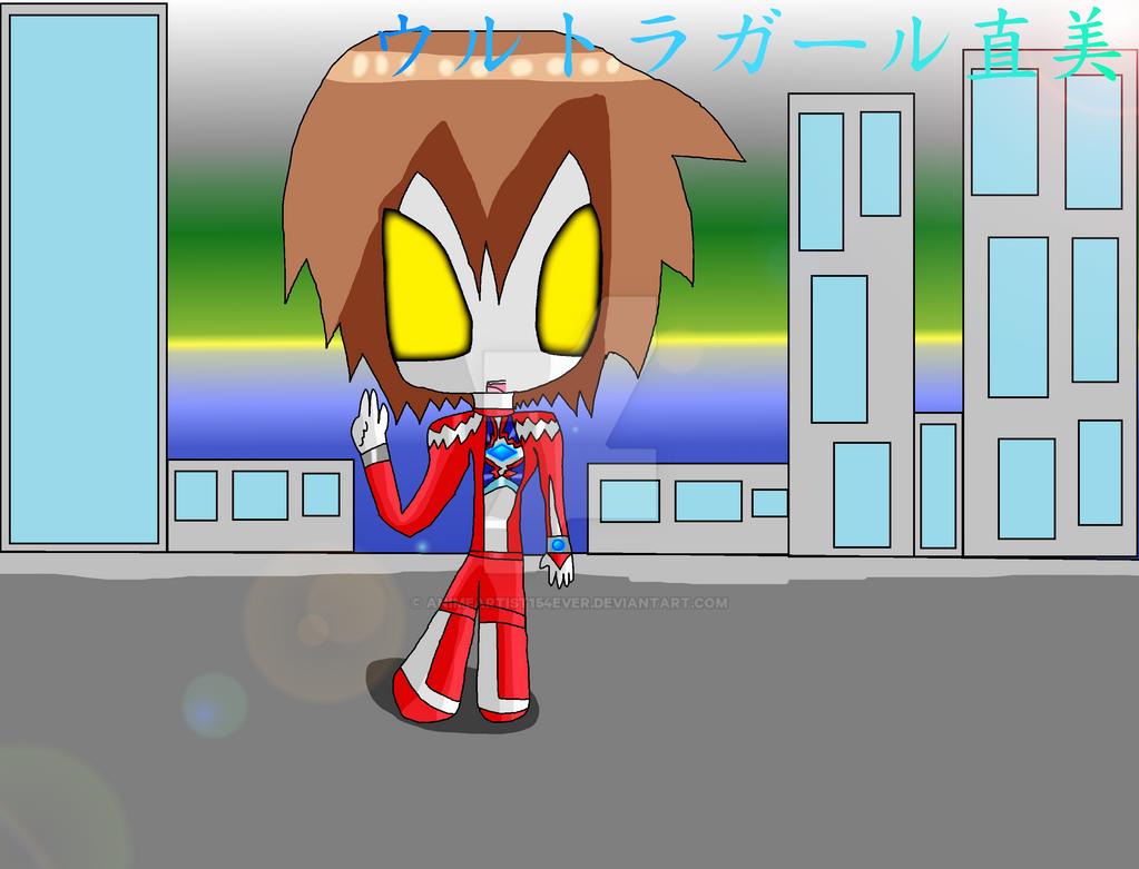 Ultragirl Naomi by AnimeArtist154ever