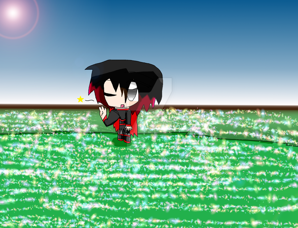 Chibi Ruby Rose by AnimeArtist154ever