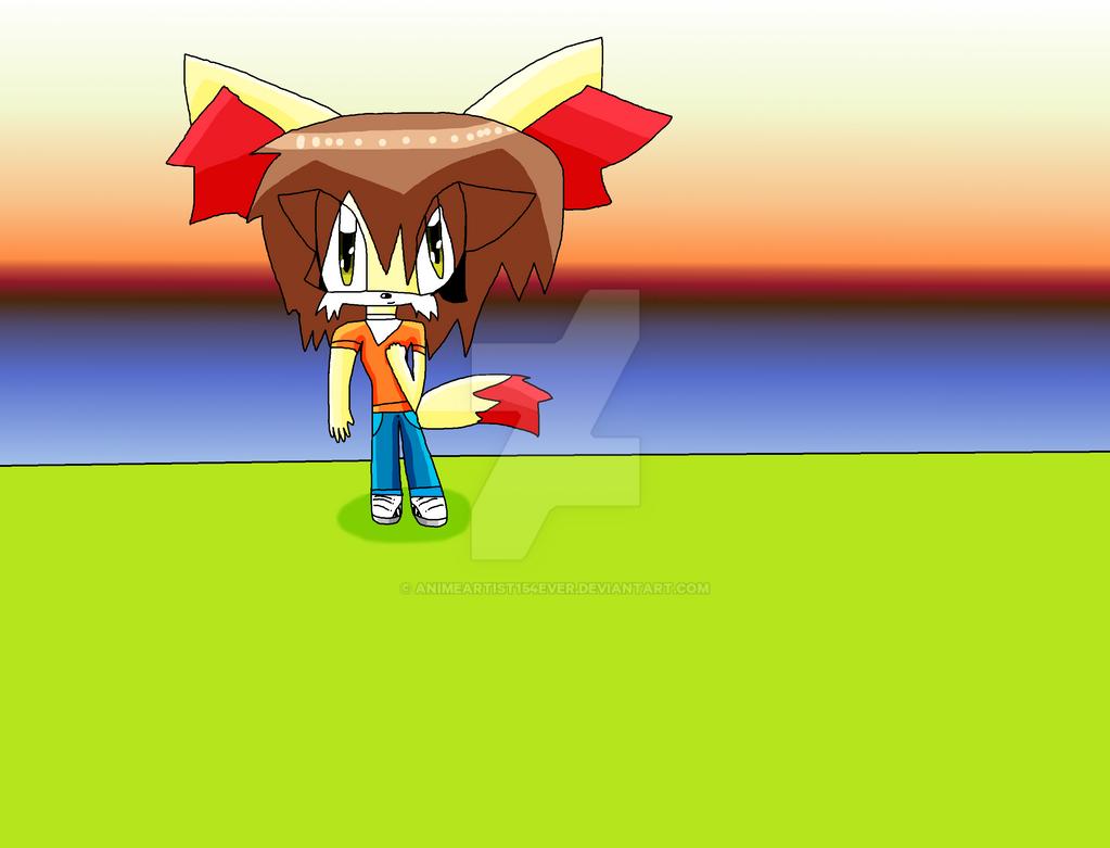 Alya the Fennekin by AnimeArtist154ever