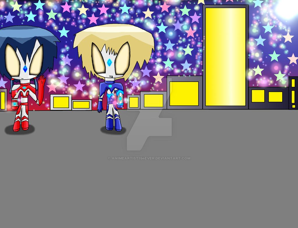Ultrawoman Ayumi and Ultraman Yoshiki by AnimeArtist154ever