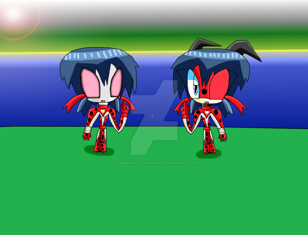 The Two Versions of Ultrawoman Ladybug by AnimeArtist154ever