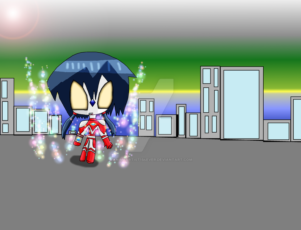 Ultrawoman Ayumi Arrives by AnimeArtist154ever