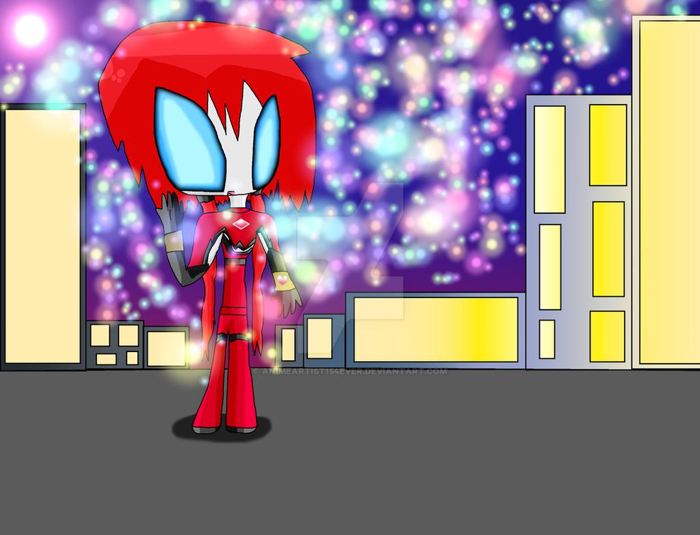 Ultragirl Tikki by AnimeArtist154ever
