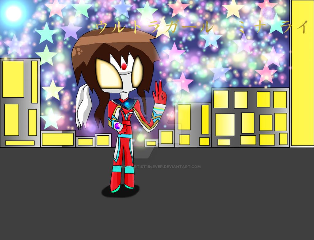 Ultragirl Mina Rai by AnimeArtist154ever
