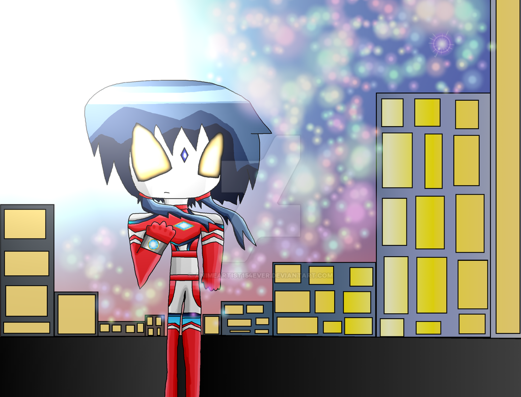 Kisaragi's Protector Ultrawoman Ayumi by AnimeArtist154ever