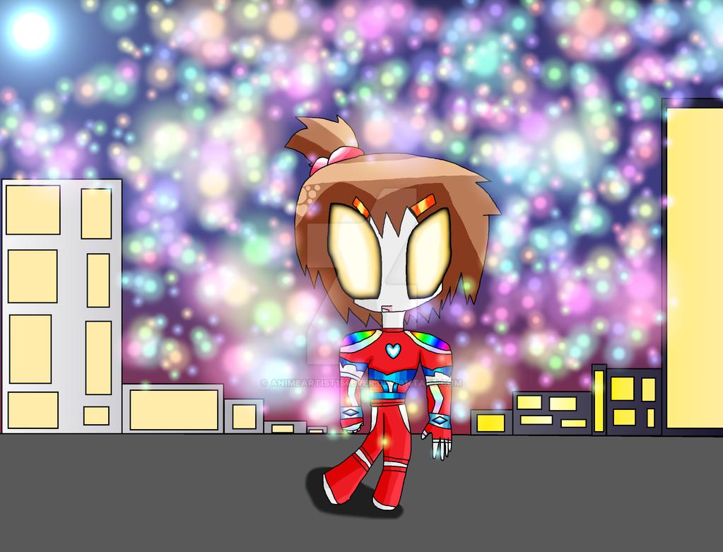 Ultragirl Mayu New Version by AnimeArtist154ever