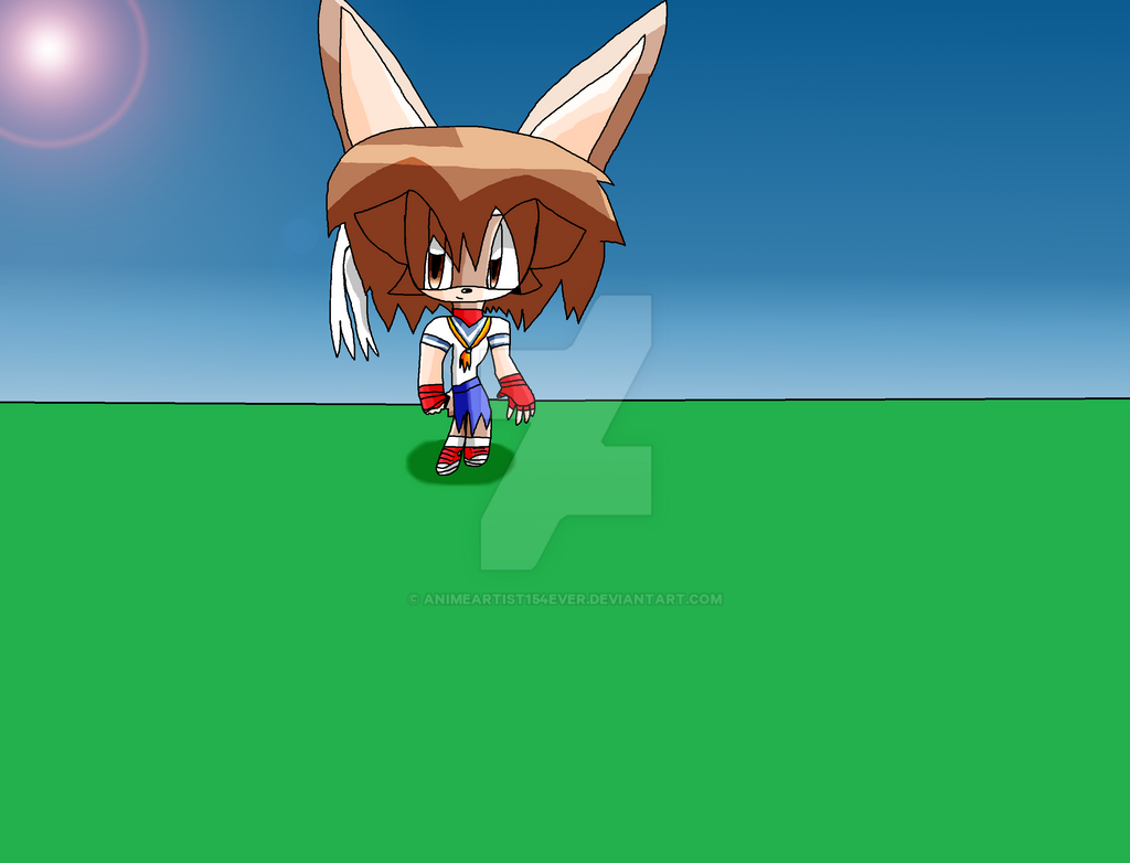 Sakura Kasugano the Rabbit by AnimeArtist154ever