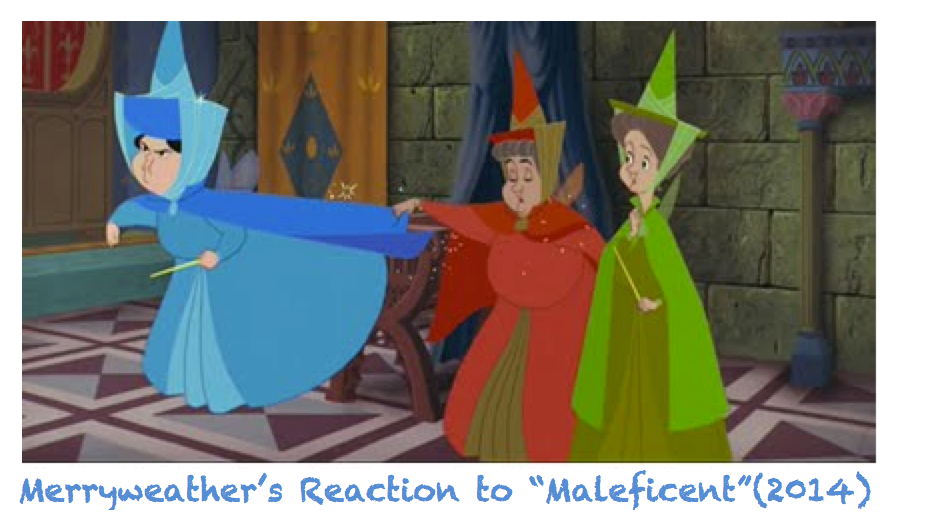 Merryweather's Reaction to MALEFICENT (2014) by joyhorse13