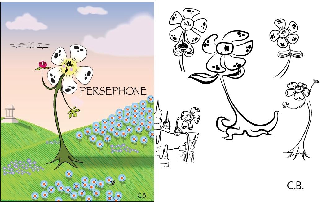 Persephone Character Design Sheet by joyhorse13