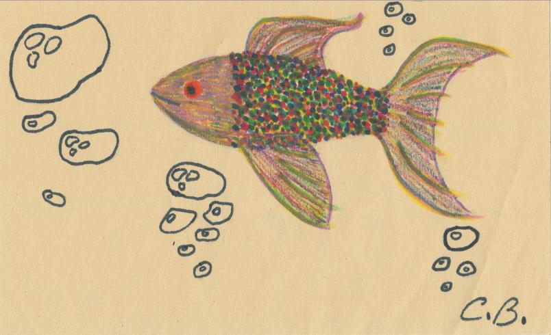 Tropical Fish Doodle by joyhorse13