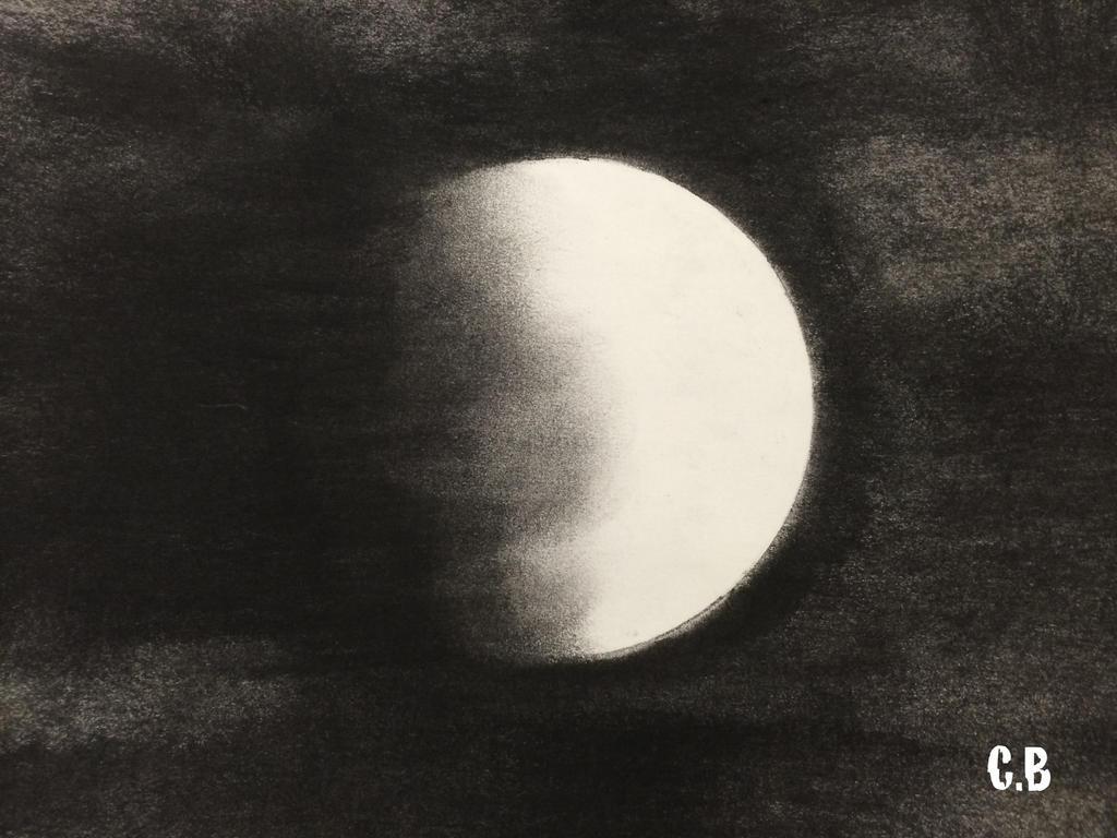 Mysterious Moon by joyhorse13