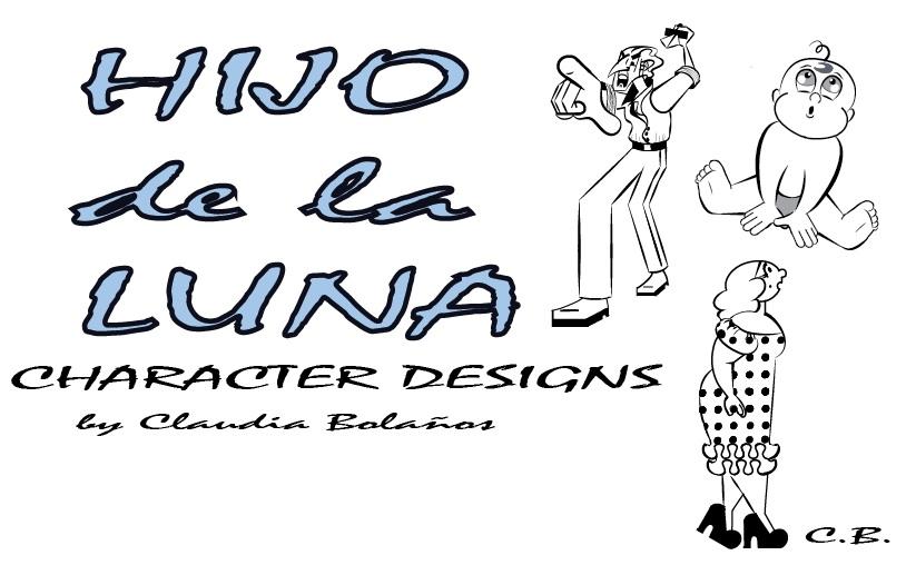 Hijo de la Luna Character Designs by joyhorse13